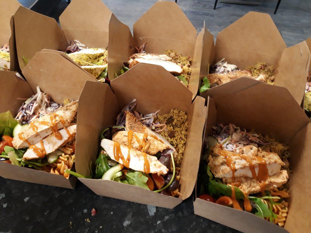 Salad Boxes / Meal Preps